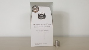 5 X BRAND NEW KEDMA GOLD FACIAL PEEL WITH DEAD SEA MINERALS (PARABEN-FREE) 30g