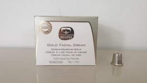 5 X BRAND NEW KEDMA GOLD FACIAL CREAM WITH DEAD SEA MINERALS (PARABEN-FREE) 50g