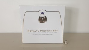 4 X KEDEM ROYALTY SET WITH FIRMING CREAM SAUNA MASK AND ACTIVE SERUM - IN 4 BOXES (NOTE EXPIRY