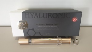 2 X KEDMA HYALURONIC PERSONAL WRINKLE FILLER WITH DEAD SEA MINERALS AND HYALURONIC ACID - EXP 16/4/