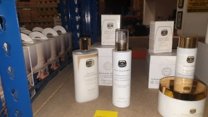 4 X KEDMA ITEMS IE. ULTIMATE CREAM, MILK CLEANSER, BALSAM CONDITIONER, DEAD SEA SALT SOAP