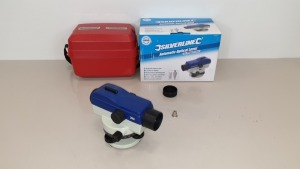 BRAND NEW SILVERLINE AUTOMATIC OPTICAL LEVEL - 20X MAGNIFICATION , SELF LEVELLING FUNCTION,